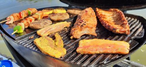 Heerlijk vlees op de BBQ